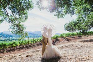Refined, Rustic Winery Wedding in Sonoma, California