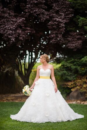 Mori Lee Ivory Wedding Dress