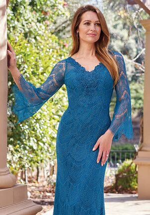 Jade Couture Mother of the Bride by Jasmine K208061 Blue Mother Of The Bride Dress