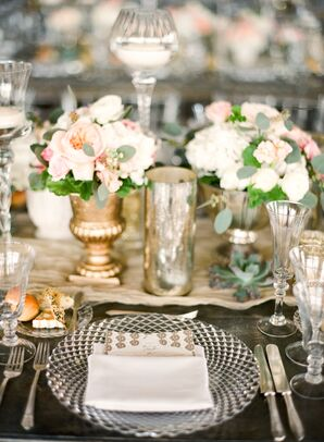 Mismatched Glass Dinnerware