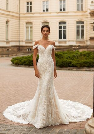 Val Stefani MONACO Mermaid Wedding Dress