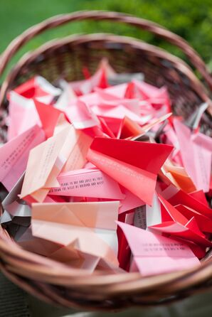 Paper Airplane Recessional Props