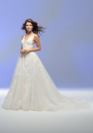 Lazaro Adelaide Style 32101 A-Line Wedding Dress
