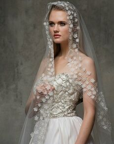Blossom Veils & Accessories BV1474 Ivory Veil