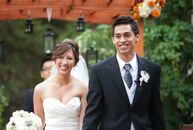The Bride Jamie Allen, 28, a physician's assistant The Groom Alex Schlosser, 27, a pharmacist The Date September 2  Without zeroing in on a theme, Jam