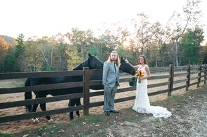 Relaxed Southern Wedding at Five Star Lodge and Stables