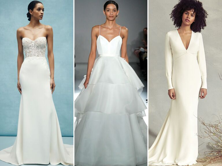 d89ff431c39 28 Simple Wedding Dresses Perfect for Minimalists