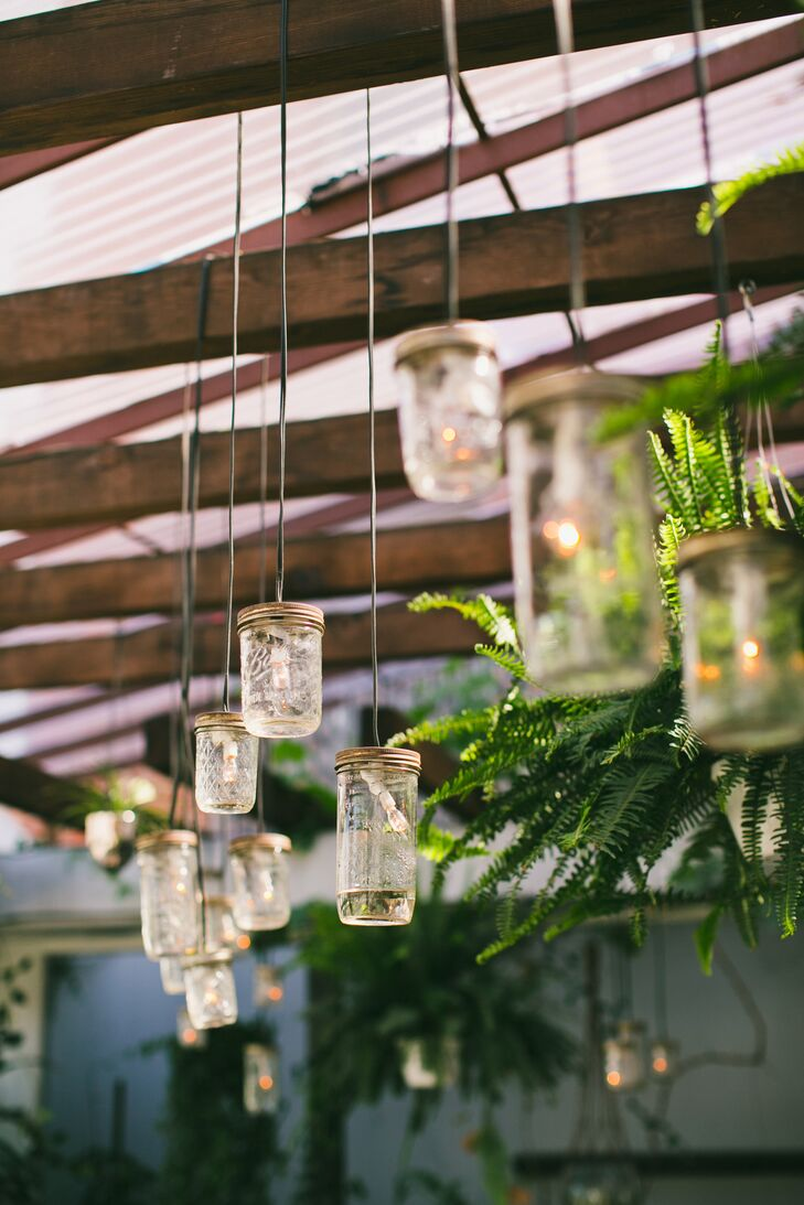 Bohemian Mini Mason Jar String Lights