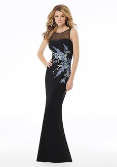 MGNY 72130 Black Mother Of The Bride Dress