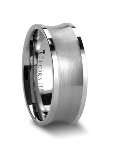 Mens Tungsten Wedding Bands W225-BCFE Tungsten Wedding Ring