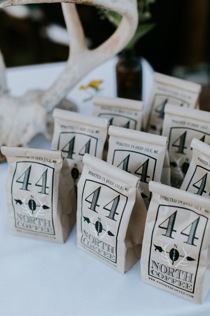 Locally Roasted Coffee Favors
