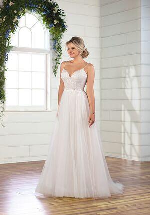 Essense of Australia D3082 A-Line Wedding Dress
