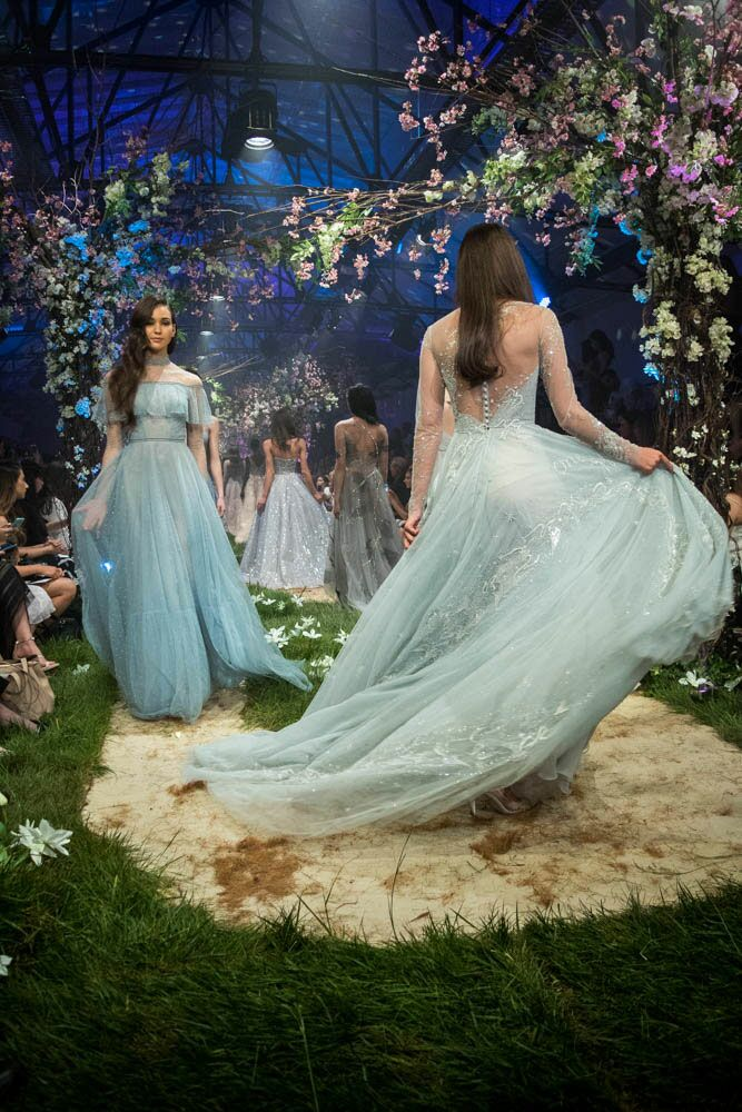 Paolo Sebastian Disney gowns tulle gown