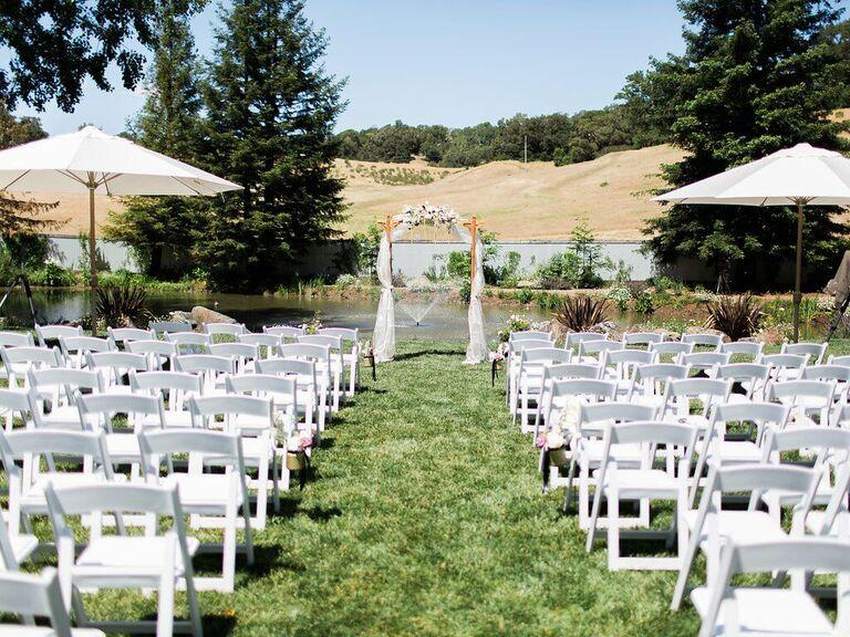 California wedding venue in Wine Country, California.