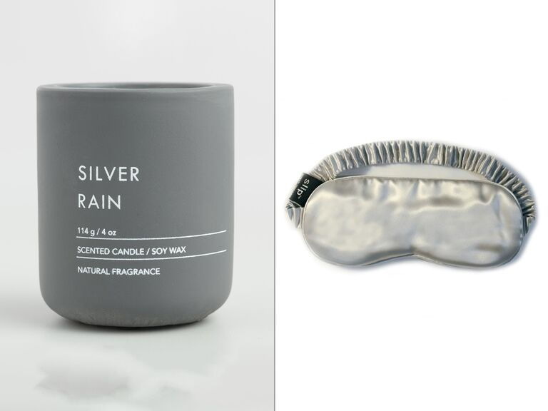 Silver anniversary gift spa idea