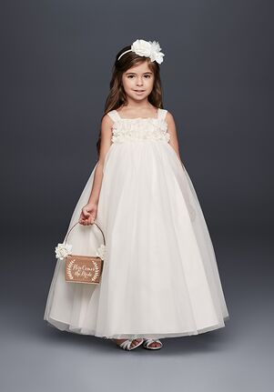 05709637d5bf Tulle Flower Girl Dresses | The Knot