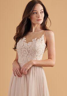 Belsoie Bridesmaids by Jasmine L204056 Bateau Bridesmaid Dress
