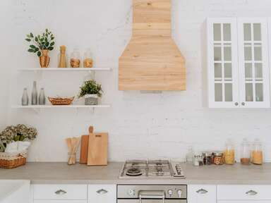 Modern kitchen registry items and appliances