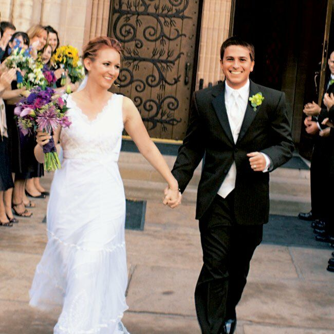 Real Weddings Study: Heather & Jason In Manitou Springs, CO