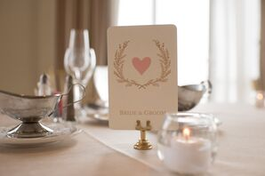 Whimsical Heat and Laurel Wreath Signs