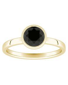 DiamondWish.com Classic Princess, Round Cut Engagement Ring