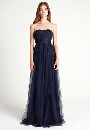 Monique Lhuillier Bridesmaids 450302 Strapless Bridesmaid Dress