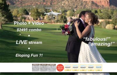 OurWeddingVideoGuy.com Arizona 4K + Cool Drone Vids!