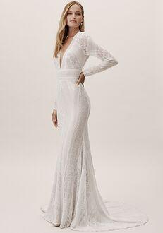 BHLDN Summer Gown Mermaid Wedding Dress