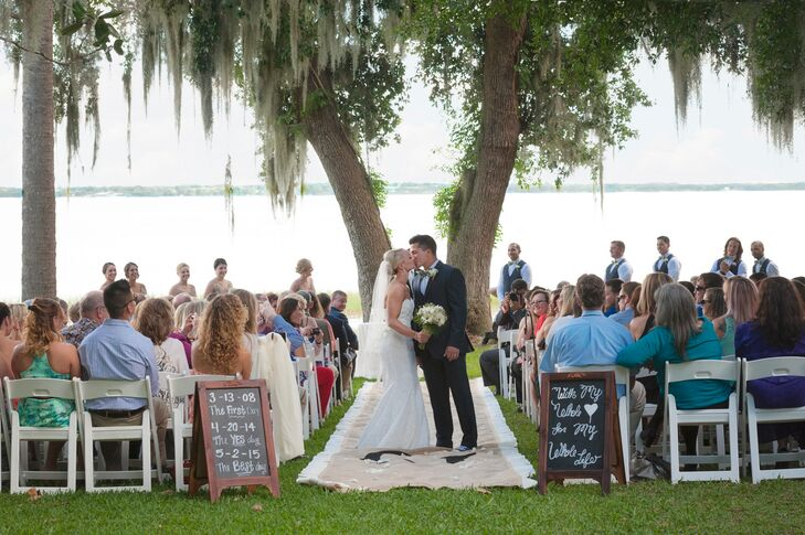 Chalkboard Wedding Signs With Special Dates