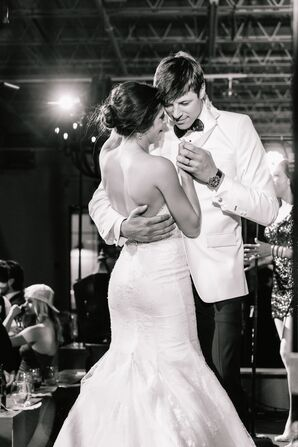 Mary Claire and William enjoy their first dance