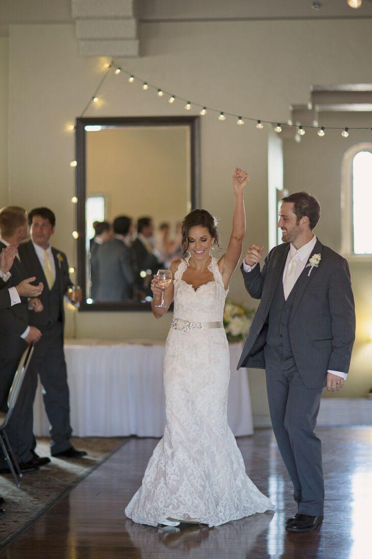 Lauren and Bryan Reception Entrance
