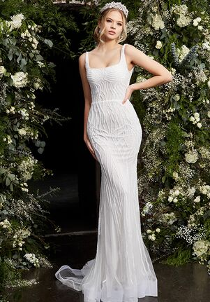Jovani Bridal JB06666 Sheath Wedding Dress