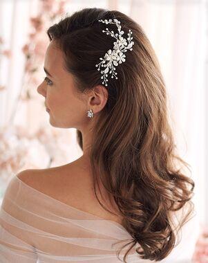 Dareth Colburn Angela Pearl Wedding Comb (TC-2051) Gold, Pink, Silver Pins, Combs + Clip