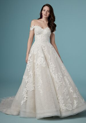 Maggie Sottero PAISLEE LOUISE A-Line Wedding Dress