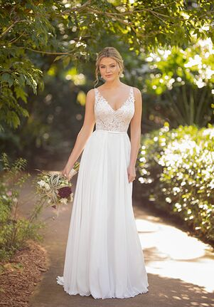 Essense of Australia D3224 A-Line Wedding Dress