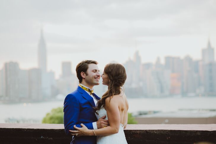 "After visiting several New York City venues, Candice and Edouard still hadn't found the perfect spot to say their ""I dos""—until Candice went to see th"