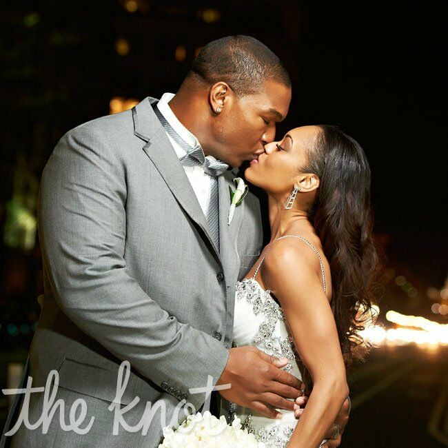 The Bride Monique Cox, 28, the owner of PROssistant, a virtual assisting and management company The Groom Christopher (Chris) Samuels, 34, a retired f