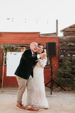 Bohemian First Dance at Hey Babe Ranch in Alpine, California