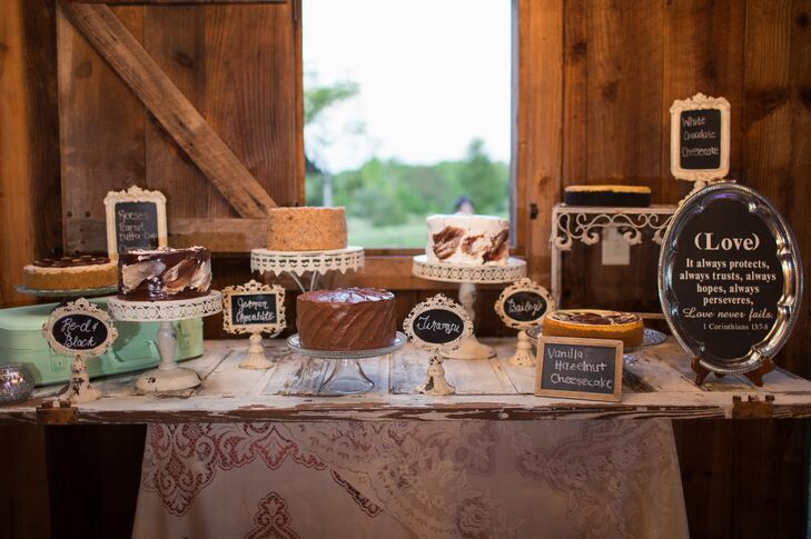Rustic Chic Dessert Table