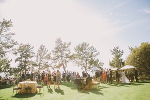 Rustic, Elegant Outdoor Reception in Big Sur