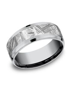 Benchmark CF128843MTGTA Tantalum Wedding Ring
