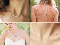 Bridal wedding necklace ideas