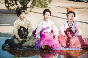 Pyebaek Korean Wedding Tradition