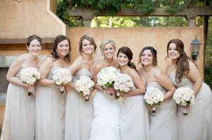 Cappuccino Bridesmaids Dresses by Sorella Vita