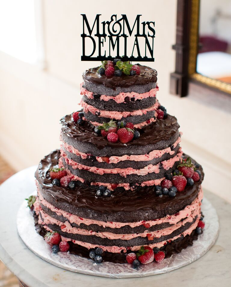 10 Stunning Naked Wedding Cake Ideas You'll Love