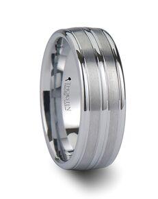 Mens Tungsten Wedding Bands W670-TGWT Tungsten Wedding Ring