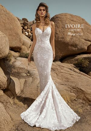 IVOIRE by KITTY CHEN MACEY,V2118 Sheath Wedding Dress