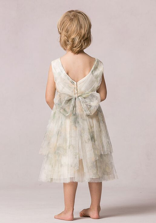 ff5e41bb533 Jenny Yoo Collection (Maids) Etsy Print Flower Girl Dress - The Knot