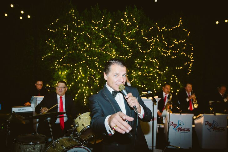 Frank Sinatra Impersonator at Palm Springs Wedding
