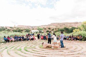 Intimate Desert Ceremony